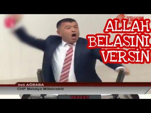 CHP'li Veli Ağbaba Meclisi Ayağa Kaldırdı. AKP'liler Çılgına Döndü. İşte Ağbaba'dan Tarihi Konuşma