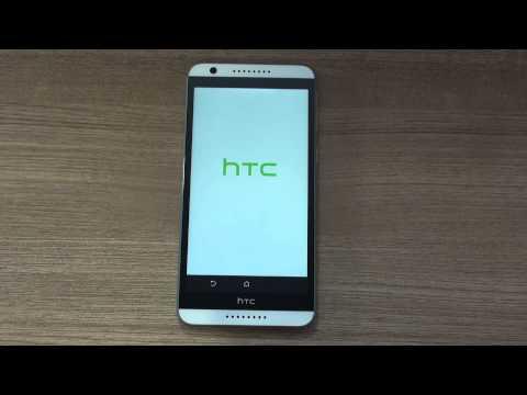 HTC Desire 820 hard reset