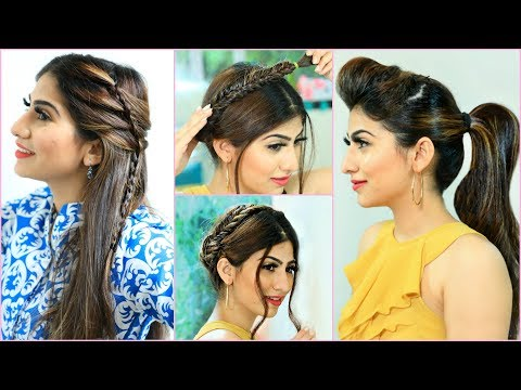 30 Secs SUMMER HAIRSTYLES for Teenage/Office/College Girls | #Anaysa thumbnail