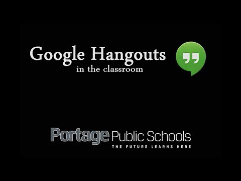 Google Hangouts in the Classroom