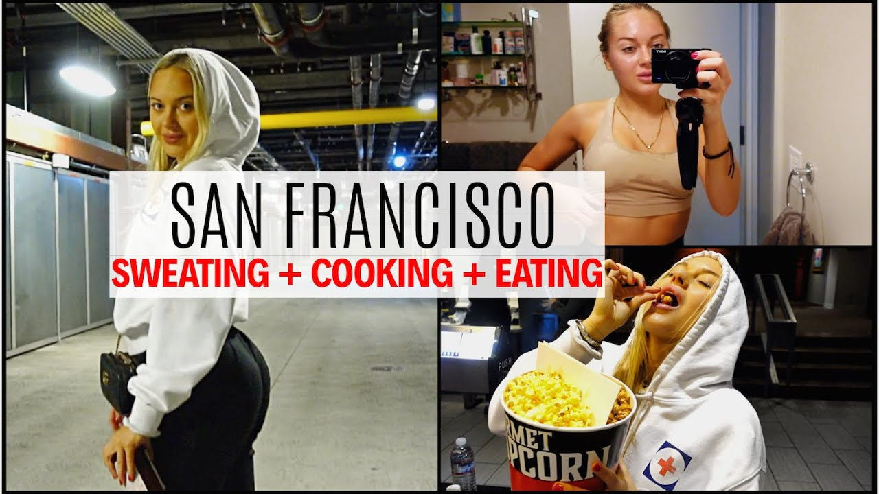 WHAT I EAT IN A DAY// My day in- San Francisco