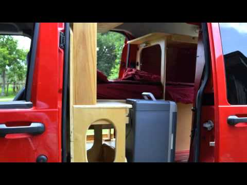 crazy teeny tiny diy ford transit connect camper rv conversion - Ford Transit Connect Interior Camper