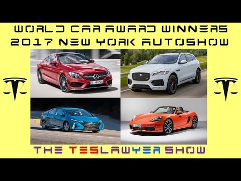 World Car of the Year Winners New York Autoshow 2017