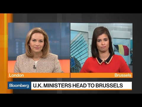 U.K. Ministers Head to Brussels for Talks