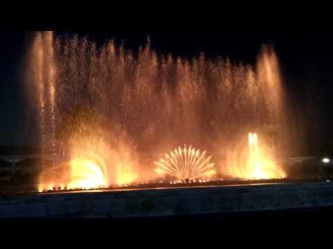 Musical fountain, prem mandir, mathura