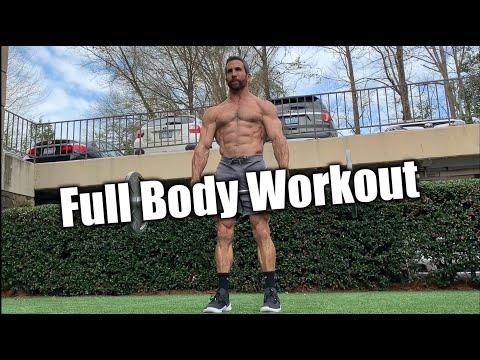 Full Body Barbell Flow