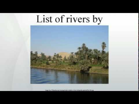 List of rivers by length