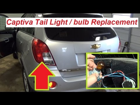 hqdefault chevrolet captiva opel antara tail light bulb replacement turn  at nearapp.co