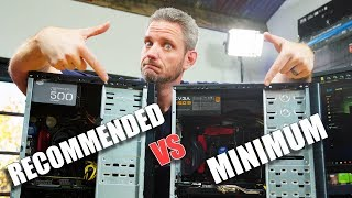 Can you REALLY game with the Minimum Specs?? thumbnail