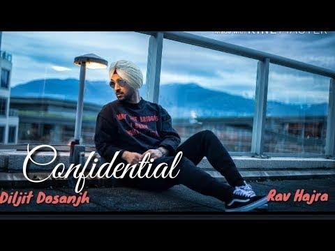 Confidential Diljit Dosanjh New Album All Songs Rav Hanjra Sappy Future High End Drive Sorry Weekend