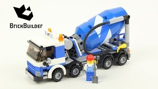 Lego City 7990 Cement Mixer - Lego Speed Build