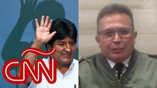 ¿Qué plan tenían las Fuerzas Armadas si Evo Morales no hubiera renunciado?