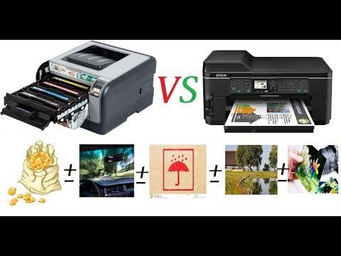 Выбор лучшего цветного принтера на 2019 год