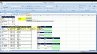 Excel 2007 Dersleri - Hafta2 Bolum1 - Veri Doğrulama, DÜŞEYARA