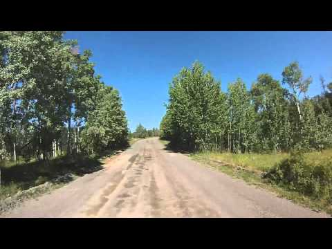 100 Mile House BC  KLR-650 on/off-road