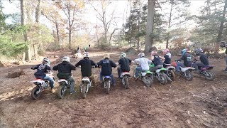 SICKEST BACKYARD PITBIKE RACE..EVER!!