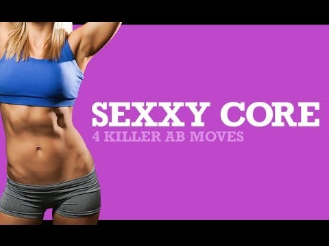SIX PACK ABS Workout for WOMEN  – 4 Killer Ab Exercises for a Sexy Core!!