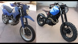 Yamaha XT600 Scrambler build...