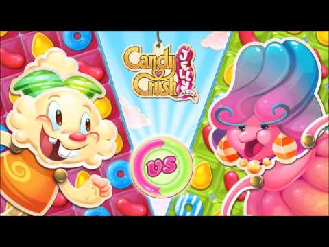 Candy Crush Jelly Saga Menu Theme Extended - World Theme - Game Music HQ