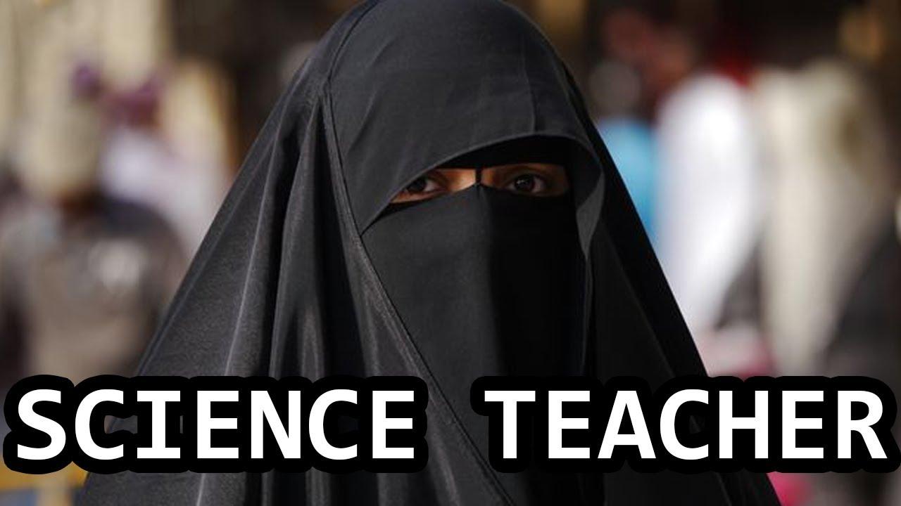 Teacher wearing Burka gets owned