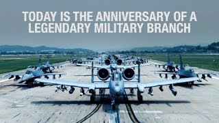 Tribute to the U.S. Air Force on its 71st Anniversary
