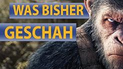 Planet der Affen: Survival - Wir fassen die bisherigen Prequels für euch zusammen!