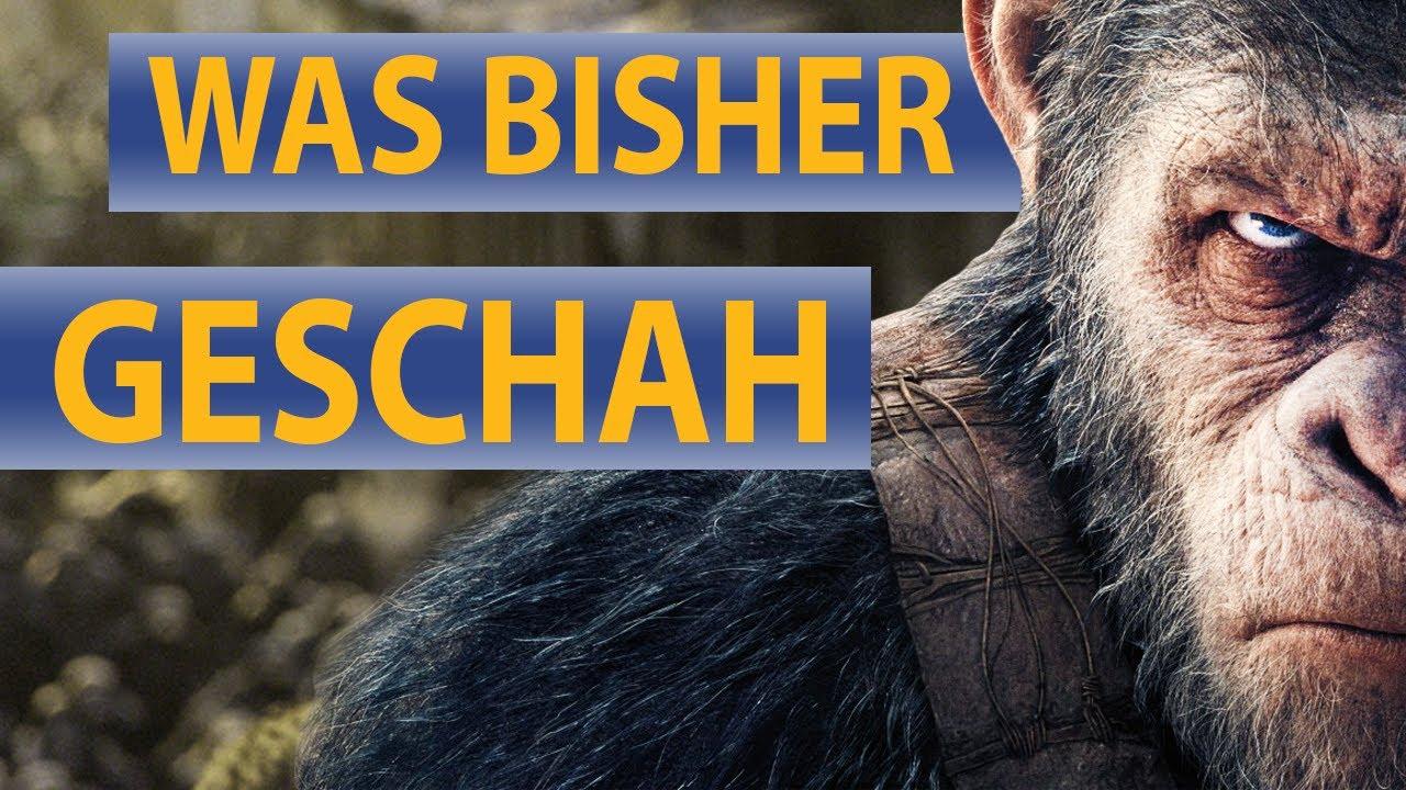 Planet der Affen: Survival - Wir fassen die bisherigen Prequels für ...