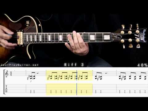 [ SOAD - Chop suey ] How to play part 2/2 [ free guitar lesson ] 40% 60% and 80% speed with tabs