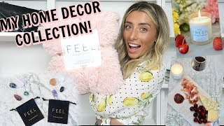 MY HOME COLLECTION REVEALED!!! YOU CAN BUY IT TODAY! | Lauren Elizabeth