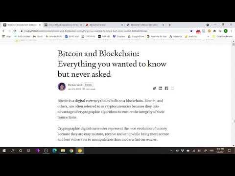 Bitcoin And Blockchain - Audio Lecture