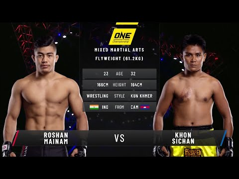 Roshan Mainam vs. Khon Sichan | Full Fight Replay