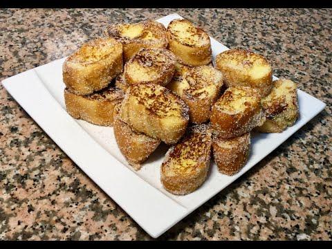 recette-anti-gaspillage-et-Économique-de-nos-grands-mÈres-le-pain-perdu-au-sucre-vanillÉ
