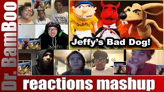 SML Movie: Jeffy's Bad Dog! REACTIONS MASHUP