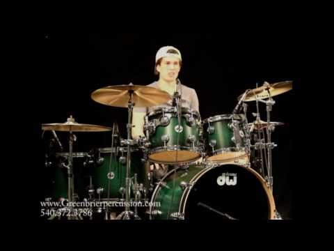 Greenbrier Percussion - DW Collector Series Satin Emerald Demo