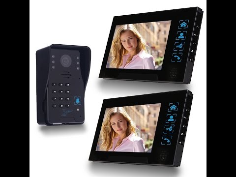 SIMBR Wired Video Doorbell with 2 Monitors Review and Set Up Tutorial | The Coolest Doorbell