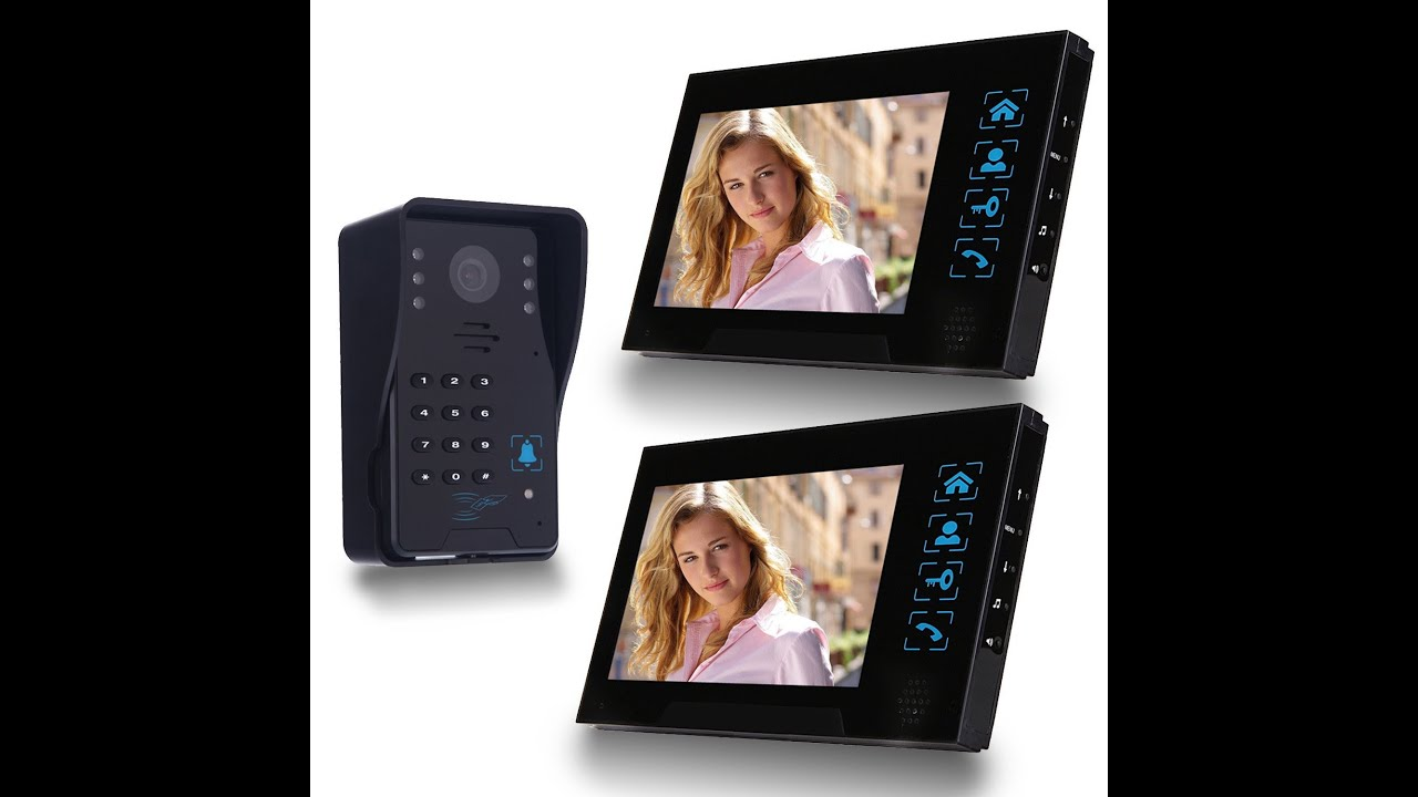 Simbr Wired Video Doorbell With 2 Monitors Review And Set Up