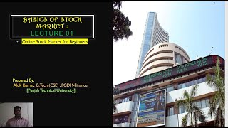 Basics Of Stock Market For Beginners- Lecture 01- Keys To Financial Success