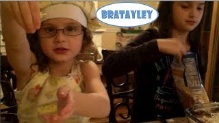 Cooking With Hayley And Annie (wk 152.4) | Bratayley
