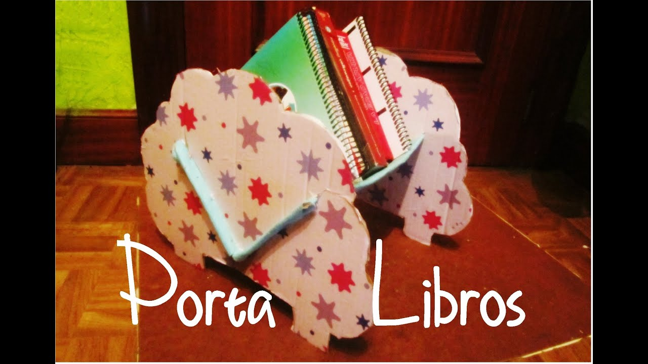 Porta Libros Manualidad 91 Youtube