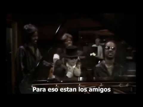 That's What Friends Are For - Dionne Warwick & Friends (Sub. Español)