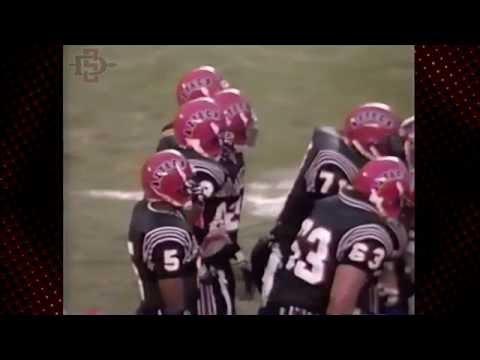 SDSU FOOTBALL: AZTECS REWIND - MARSHALL FAULK BREAKS NCAA RUSHING RECORD (1991)