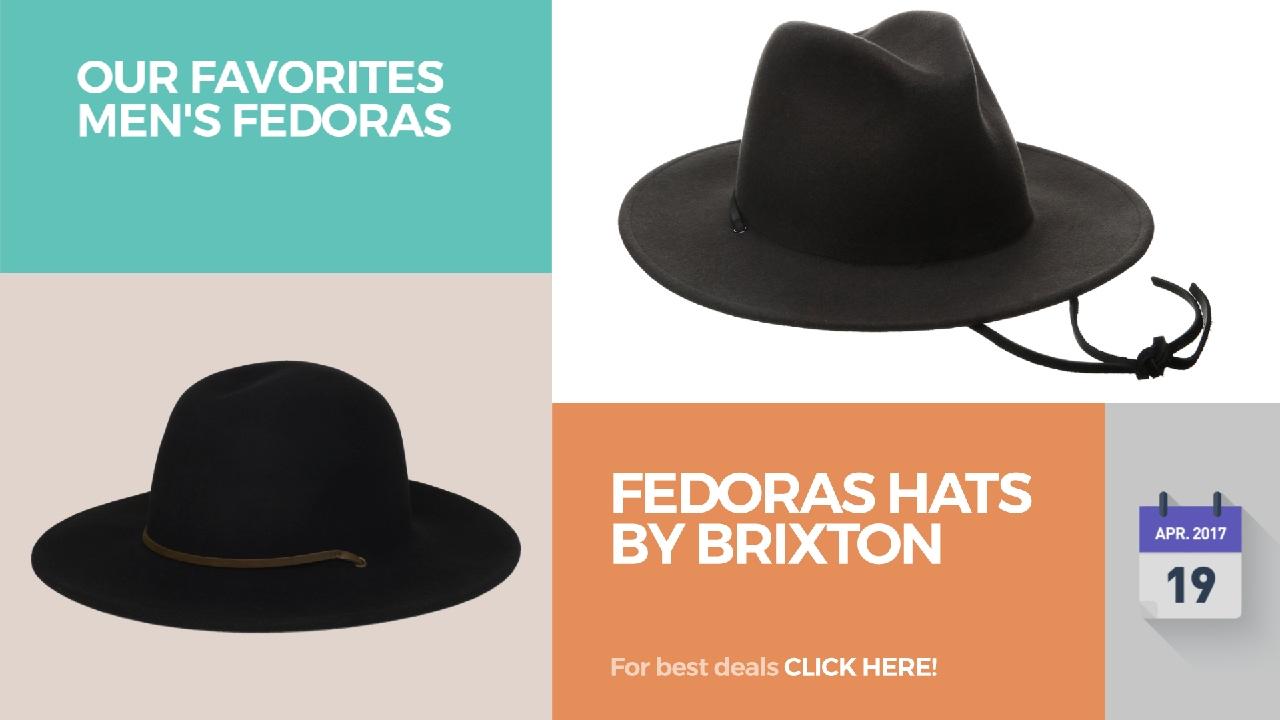 648b508c62c Brixton Fedoras    Our Favorites Men s Fedoras - YouTube