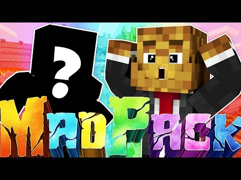 ADDING A NEW FRIEND TO THE SERIES - MINECRAFT MAD PACK CHALLENGE SURVIVAL #4