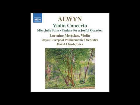 Alwyn  Violin Concerto