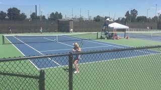 Urszula Radwanska vs Michelle Larcher de Brito 2016 Stockton Challenger