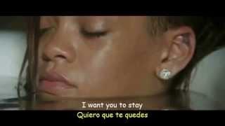 Rihanna Stay ft Mikky Ekko Lyrics Video Sub Espa