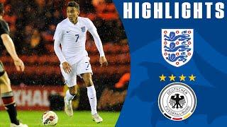 Lingard goal - England U21s 3-2 Germany | Goals & Highlights