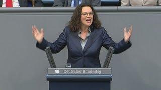 Hausfrau oder Bundeskanzlerin: Andrea Nahles
