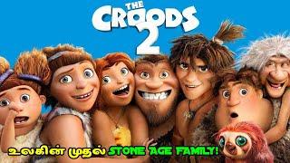 உலகின் முதல் STONE AGE FAMILY! Part II| Movie Explained in Tamil | Tamil dubbed Movie |Film Feathers