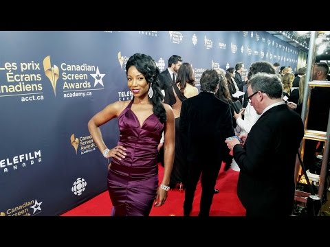 Dorly  Red Carpet Fashion  Canadian Screen Awards 2016